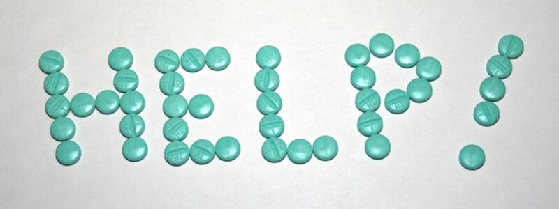 Lekomania - uznanie bezsilności